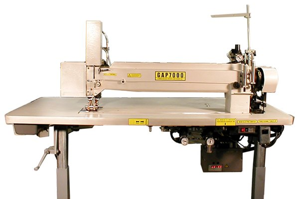 GAP7000 Combination Long Arm Label Sewer / Quilt Repair