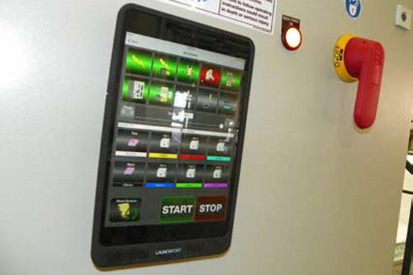 HMI operator's tablet