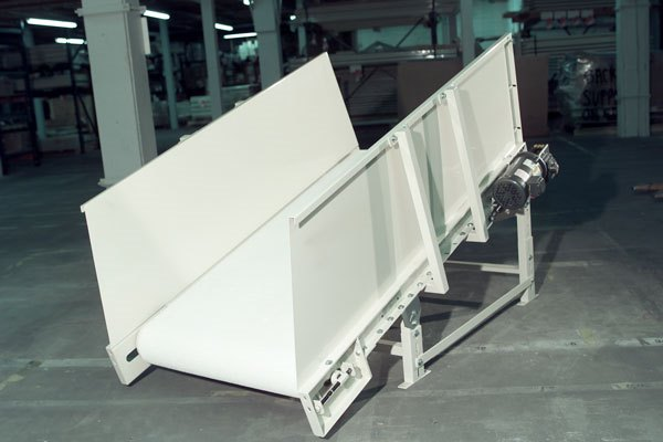 InclineTrough Bed Belt Conveyor (ITBBC)