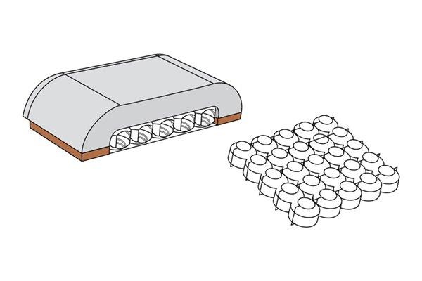 Coil-Web Slip Seat