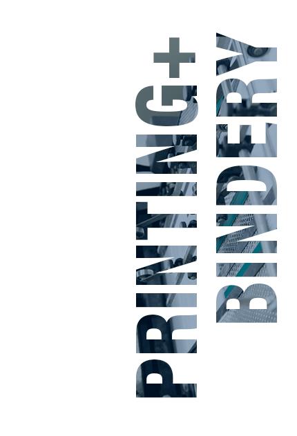 Printing + Bindery
